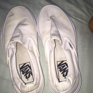 Vans slip ones .. only worn once